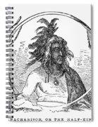 Tanacharison (c1700-1754) Spiral Notebook