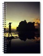 Tanah Lot Temple Spiral Notebook