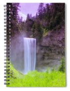 Tananamawas Falls  Spiral Notebook