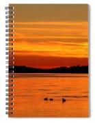 Tangerine Dream Spiral Notebook