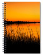 Tangerine Sunset Spiral Notebook
