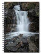 Tangle Creek Falls, Alberta, Canada Spiral Notebook