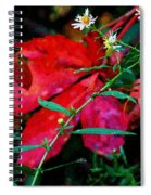 Tangled Flame Spiral Notebook