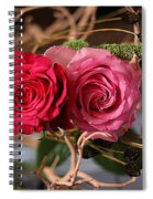 Tangled On Driftwood Spiral Notebook