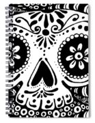 Tangled Skull Spiral Notebook