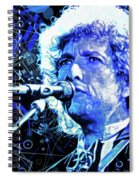 Tangled Up In Blue, Bob Dylan Spiral Notebook