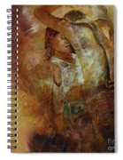 Tango Dance 998al  Spiral Notebook
