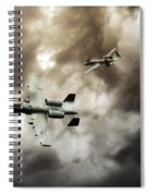 Tank Busters Spiral Notebook