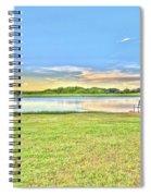 Tank Fishing - Karnes City, Tx Spiral Notebook