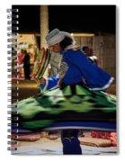 Tanoura Dancer Spiral Notebook