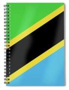 Tanzania Flag Spiral Notebook