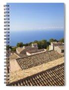 Taormina Rooftops Spiral Notebook