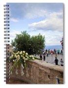 Taormina Square Spiral Notebook
