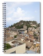 Taormina View II Spiral Notebook