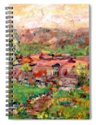 Taos By The River Spiral Notebook