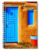 Taos Doorway Spiral Notebook
