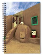 Taos Oven Spiral Notebook