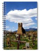 Taos Pueblo Cemetery Spiral Notebook