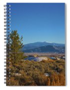 Taos Valley Spiral Notebook