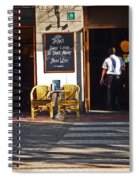 Tapas Bar Spiral Notebook