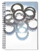 Tapered Stack Spiral Notebook