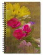 Tapestry Bouquet Spiral Notebook