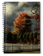 Tapestry Of Clouds Spiral Notebook