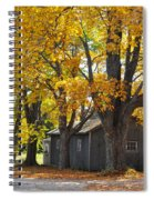 Tar Paper Shack Spiral Notebook