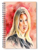 Tara Summers In Boston Legal Spiral Notebook