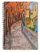 Tarde Spiral Notebook
