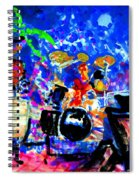 Target At The Palm Club Spiral Notebook