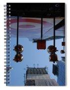Target Lights Spiral Notebook