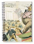 Tariff Lobbyist, 1897 Spiral Notebook