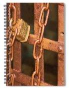 Tarnished Image Spiral Notebook