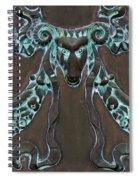 Tarnished Ram Spiral Notebook