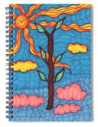 Tarot Of The Younger Self Ace Of Wands Spiral Notebook