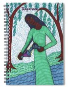 Tarot Of The Younger Self Temperance Spiral Notebook