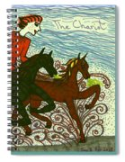 Tarot Of The Younger Self The Chariot Spiral Notebook