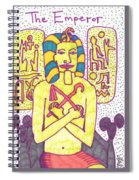 Tarot Of The Younger Self The Emperor Spiral Notebook