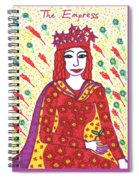Tarot Of The Younger Self The Empress Spiral Notebook