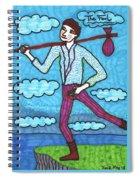 Tarot Of The Younger Self The Fool Spiral Notebook