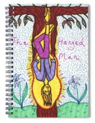 Tarot Of The Younger Self The Hanged Man Spiral Notebook