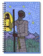 Tarot Of The Younger Self The Hermit Spiral Notebook