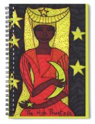 Tarot Of The Younger Self The High Priestess Spiral Notebook
