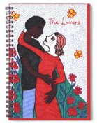 Tarot Of The Younger Self The Lovers Spiral Notebook