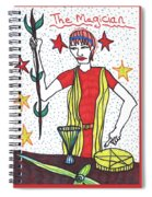 Tarot Of The Younger Self The Magician Spiral Notebook