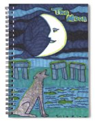 Tarot Of The Younger Self The Moon Spiral Notebook