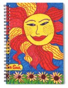 Tarot Of The Younger Self The Sun Spiral Notebook