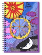 Tarot Of The Younger Self The Wheel Spiral Notebook