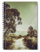 Tasmania Country Roads Spiral Notebook